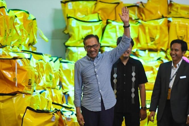 Anwar Ibrahim berencana untuk memimpin Malaysia dalam dua tahun mendatang. (Foto: AFP).