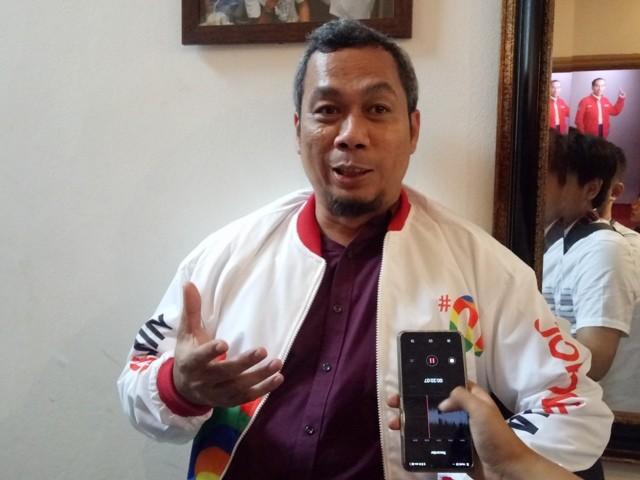 Direktur Komunikasi Politik TKN Jokowi-Ma'ruf, Usman Kansong. Foto: Medcom.id/Arga Sumantri.