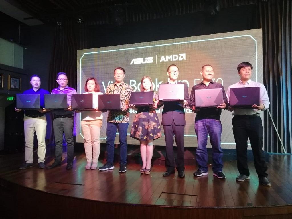 Peluncuran ASUS VivoBook Pro F570. (Medcom.id)