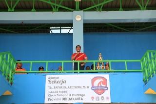 Lima GOR di Jakarta Selesai Dibangun