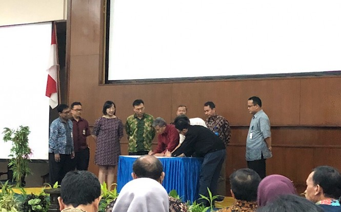 Universitas Al-Azhar Indonesia (UAI) dan Universitas Dong Hwa, Taiwan tandatangani MoU bidang pendidikan, Medcom.id/Theofilus Ifan Sucipto