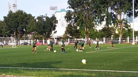 Timnas U-22 Asah Taktik dan Bola Mati di Sesi Latihan Terakhir