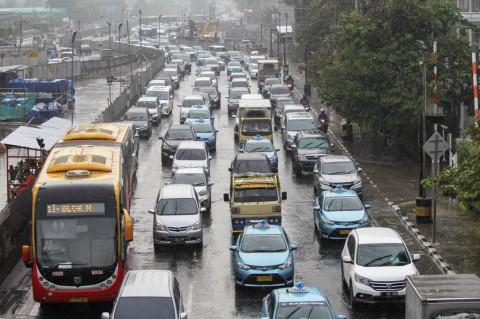 Hujan Diprediksi Guyur Ibu Kota Seharian
