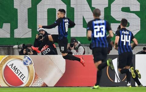 Lautaro Martinez Bawa Inter Bungkam Rapid Vienna