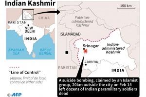 Serangan Bom di Srinagar Tewaskan 37 Polisi