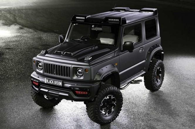 ?Suzuki Jimny Black Bison. Carscoops