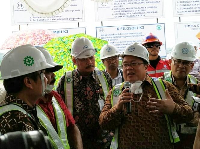 Menteri Perencanaan Pembangunan Nasional (PPN)/Bappenas, Bambang Brodjonegoro di Solo. Medcom.id/Pythag Kurniati