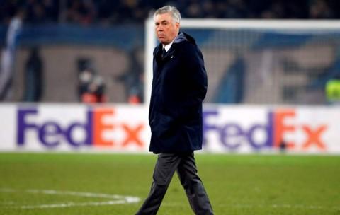 Keluhan Ancelotti Soal Ketajaman Napoli dan Bola Pertandingan