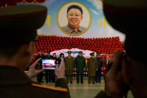 HUT Kim Jong-il, Korut Gelar Festival Bunga