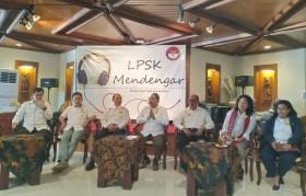 LPSK Menyerap Masukan dari Masyarakat