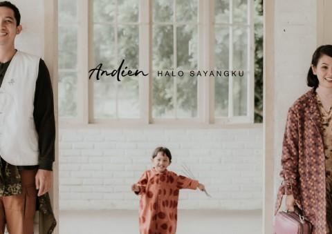 Andien Ajak Anak dan Suami di Video Musik Halo Sayangku