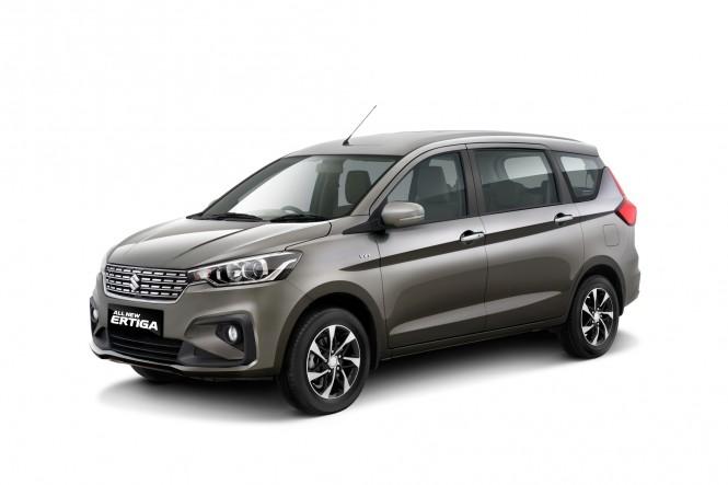 Suzuki mulai memperkenalkan New Ertiga. Suzuki