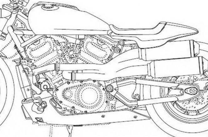 Paten konsep desain Harley-Davidson mulai nongol, akan ada tiga motor baru di 2020. VD
