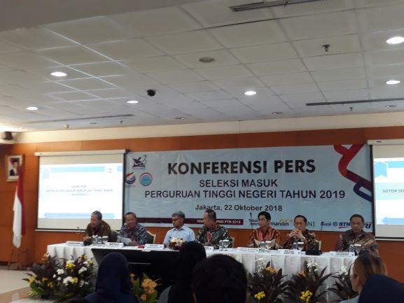 Jumpa Pers SNMPTN/SBMPTN 2019, Medcom,id/Citra Larasati.