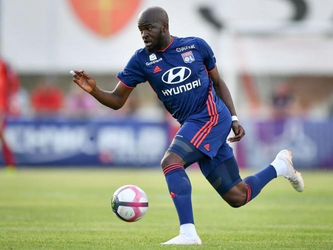 Gelandang Lyon, Tanguy Ndombele (AFP/Fabrice Coffrini)