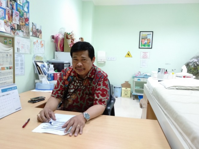 Dr. dr. Jo Edy Siswanto Sp.A (K) (FOto: Medcom/Krispen)