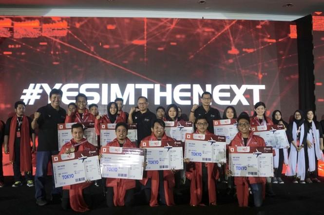 Telkomsel mengumumkan 10 peserta terbaik pada ajang IndonesiaNEXT 2018.