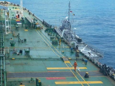 TNI AL Tangkap Sejumlah Kapal Asing di Perairan Bintan