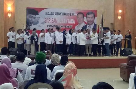 Barisan Nusantara Jabar Siap Menangkan Jokowi-Ma'ruf
