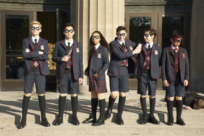 The Umbrella Academy. (Foto: Dok. Netflix)