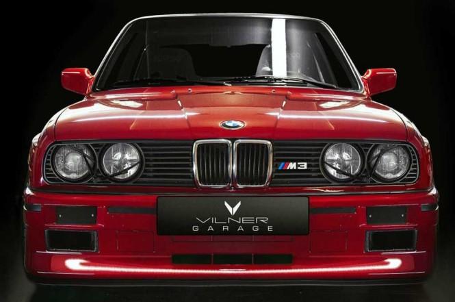 BMW M3 E30 ini tampil keren di tangan Vilner. Vilner