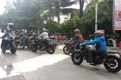 Bikers Jakarta Seru-Seruan di Jakmoto Milenial Meet Up