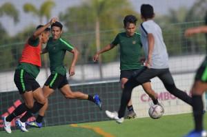 Timnas U-22 Gelar Latihan Terakhir Sebelum Hadapi Myanmar