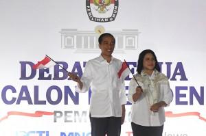 Jokowi dan Prabowo Siap Jalani Debat Kedua