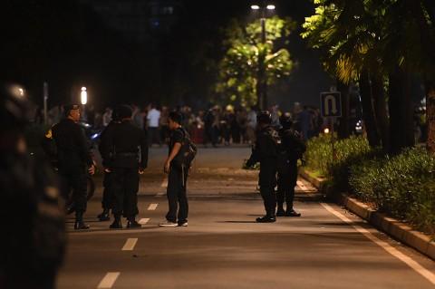 Ledakan Terdengar di Parkir Timur Senayan