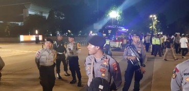 Ledakan di Area Nobar Debat Capres Bukan Bom
