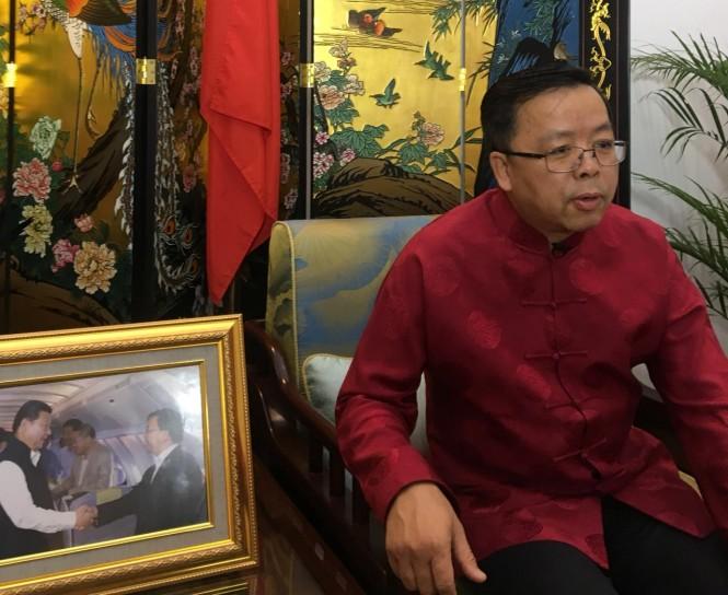 Chinese Ambassador to ASEAN Huang Xilian (Photo:Medcom.id/Sonya)