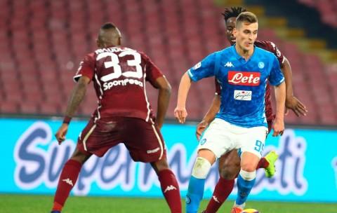 Ditahan Imbang Torino, Napoli Kian Sulit Kejar Juventus