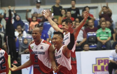 Samator Jumpa BNI 46 di Grand Final Proliga