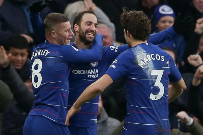 Chelsea akan menjamu Manchester United dalam babak kelima Piala FA (AFP/Daniel Leal-Olivas)