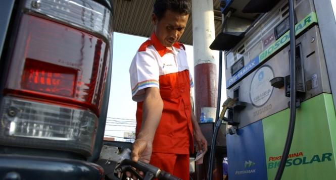 Sekarang seluruh solar di Indonesia sudah berstandar B20. MI/Safir Makki