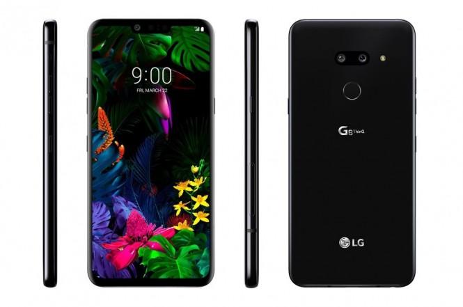 Versi standar dari LG G8 ThinQ yang diunggah oleh Evan Blass.