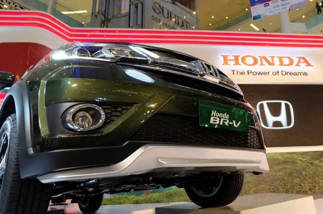 Honda BR-V merupakan salah satu tulang punggung penjualan Honda di Indonesia. doc Medcom.id