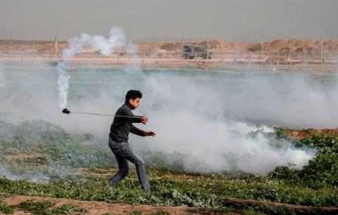 Bentrokan di Gaza Lukai 19 Warga Palestina dan Tentara Israel