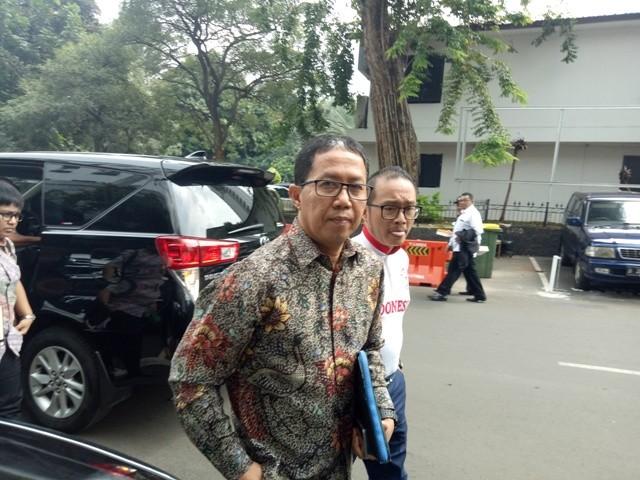 PSSI acting chairman Joko Driyono (Photo:Medcom.id/Siti Yona Hukmana)