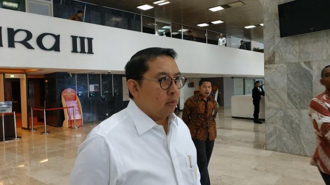 Anggota Dewan Pengarah Badan Pemenangan Nasional (BPN) Prabowo Subianto-Sandiaga Uno, Fadli Zon - Medcom.id/Ilham Pratama Putra.