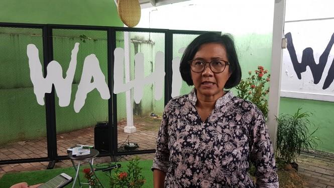 Direktur Eksekutif Walhi Nur Hidayati - Medcom.id/Damar Iradat.