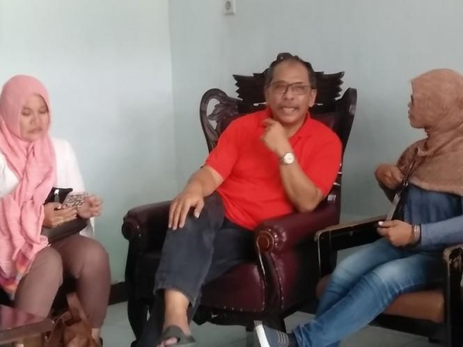 Mantan Wali Kota Makassar, Ilham Arif Sirajuddin di Lapas Kelas I Makassar, Senin 18 Februari 2019. Medcom.id/Muhammad Syawaluddin.