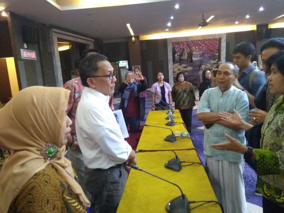 Kepala LIPI melakukan audiensi dengan karyawan dan peneliti LIPI, Medcom.id/Kautsar Widya Prabowo.