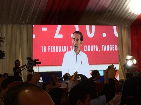 Jokowi Lepas Ekspor Produk Mayora ke-250 Ribu Kontainer