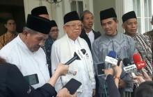 Ma'ruf Meets Islamic Boarding School Officials from Yogyakarta