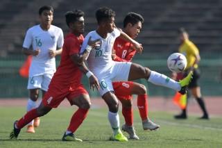 Pelatih Myanmar Bangga Imbangi Timnas U-22