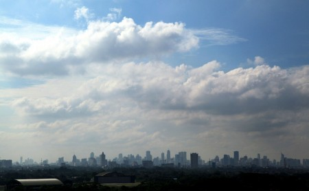 Jakarta hingga Bekasi Cerah Berawan