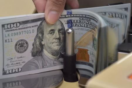 Dolar AS Terjungkal