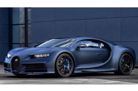 Chiron Edisi Khusus Ulang Tahun Bugatti ke-110