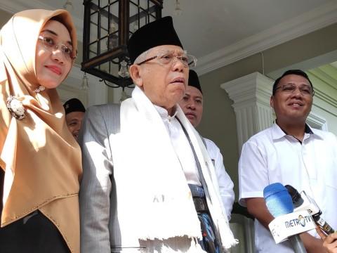 Ma'ruf Mantapkan Dukungan di Banten